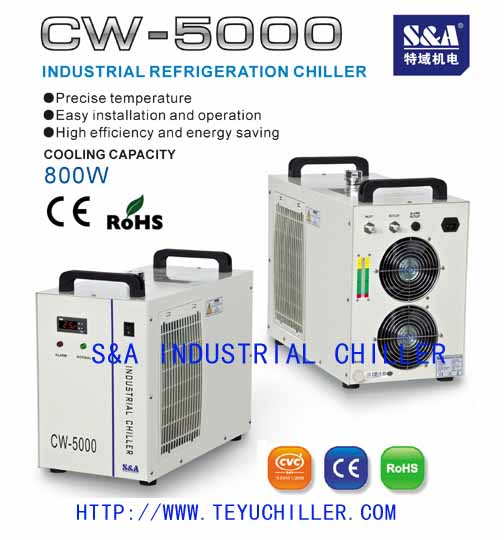 CNC engraving spindle water cooling chiller price