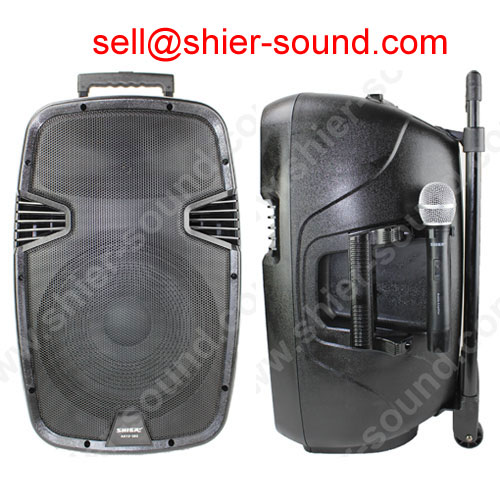 loudspeaker and woofer PA system AK15-302