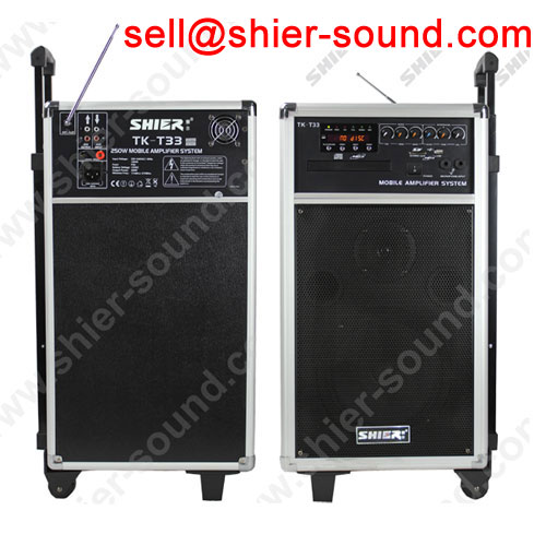 mobil sound set PA system wooden housing TK-T33