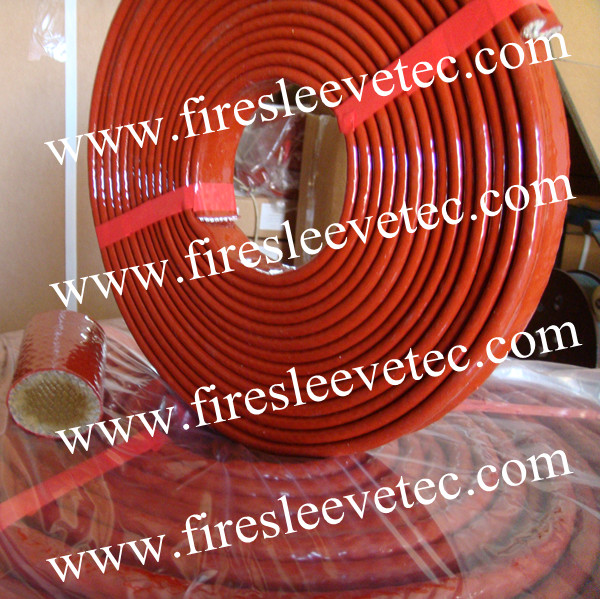 Silicone fiberglass high temperature sleeve