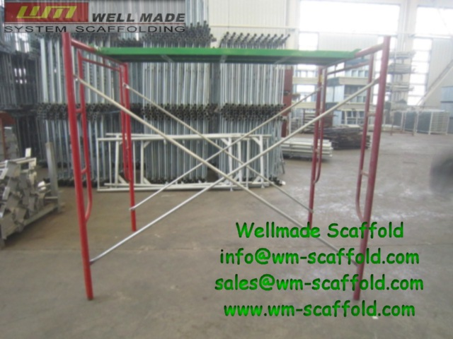 Frame scaffold-scaffold and formwork