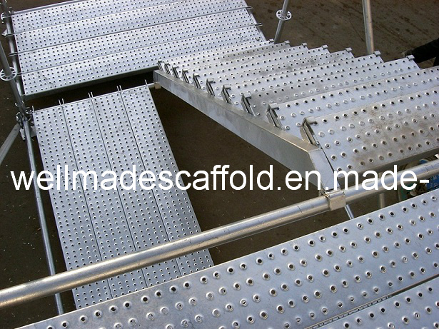 Galvanized/Steel Plank/Stair/Diagonal/Rosette/Q345/Ringlock Scaffold