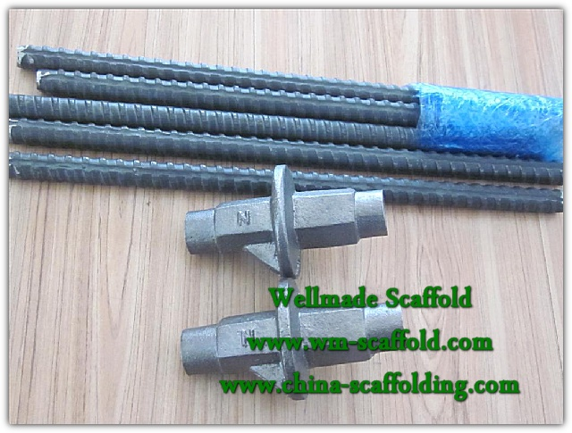 Formwork accessories1) Casting water stopper2) Tie rod3-Scaffolding and formwork