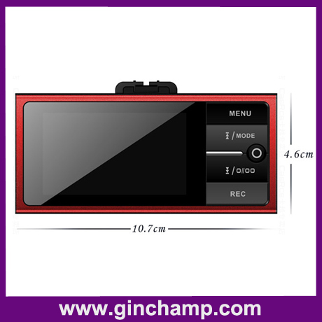 HD1080P 2.7inch LCD H.264 car black box recorder