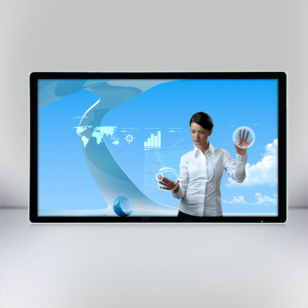 55 inch Stand-alone wall mounting LCD Advertising Player