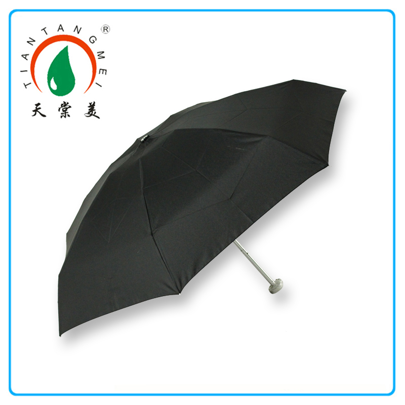 Aluminium Alloy Frame Promotional 5 Folding Umbrella