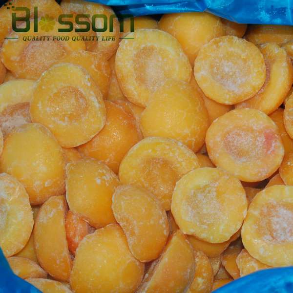 Competitive price IQF frozen yellow peaches