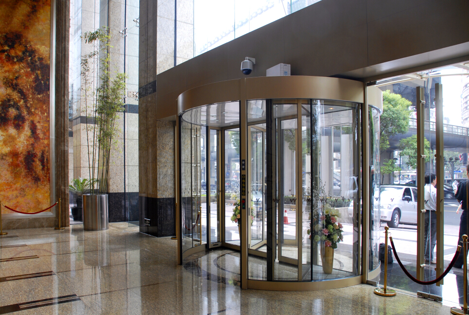 automatic revolving door manufacture China