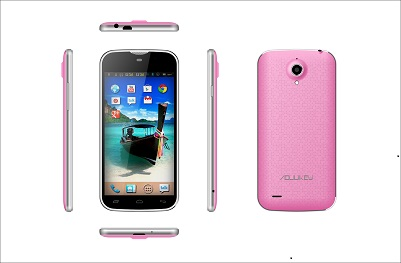 L&Y DVB-T2 5inch quad core android 3G smart phone,with 5.0MP FF and 8.0 MP AF camera!