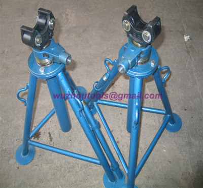 Tripod Cable Drum Trestles,with three-legged structure,