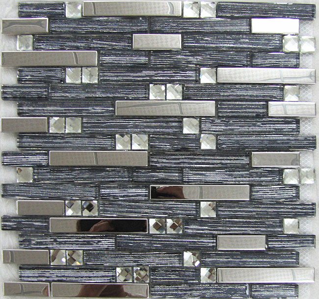 metallic mosaic tiles for wall decoration such as kitchen,bathroom .ec.