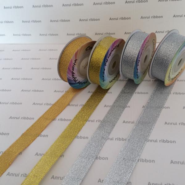 Factory directly supply polyester metallic ribbon