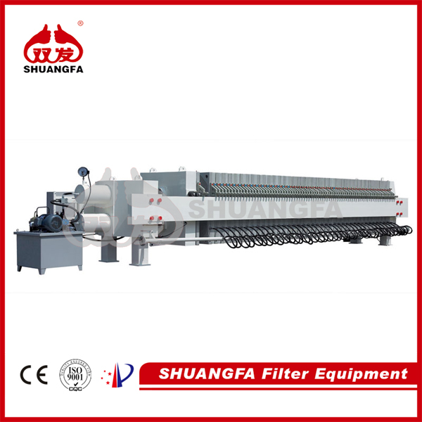Professional dewatering machine - membrane filter press, better filteration