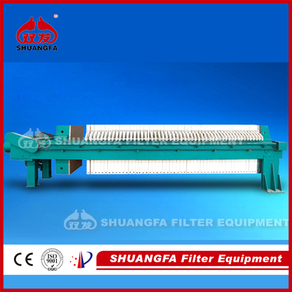High efficiency quick opening filter press- sludge dewatering press, better dewatering effect