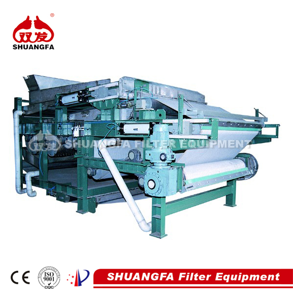 DY belt filter press for sludge dewatering with best dewatering effect.