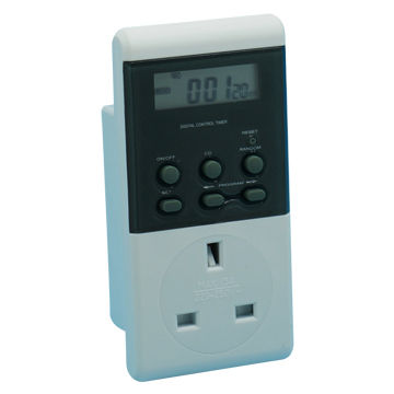 Electronic Timer with 16A 276V 3680W and 20 Program Settings