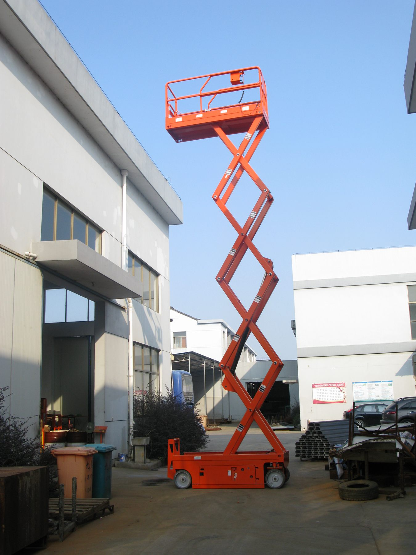 High Rise Work Platform For Warehouse