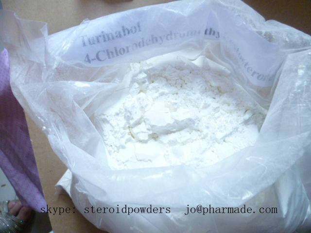 turinabol 4-Chlorodehydromethyltestosterone powder