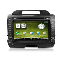 Newsmy CAR MULTIMEDIA SYSTEM Quad Core A9 1.6 Car Radio for KIA Sportager Carpad DVD Player (Dt5210s-H)