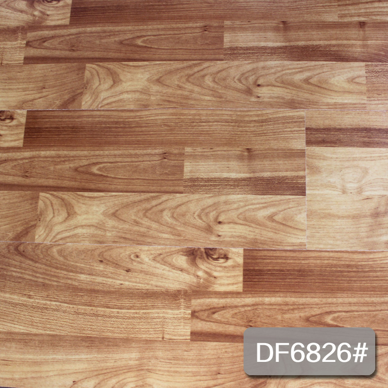 New color of embossed lamiante flooring