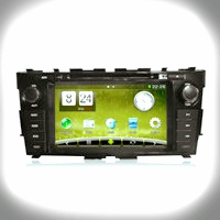 CAR AUDIO TOUCH SCREEN Quad-Core A9 1.6g Car Navigation for Nissan New Teana (DT5255S-H)