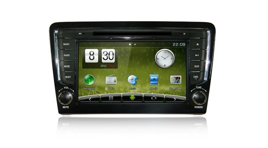 Quad Core Android4.2 HD Car Navigation for 2013 Vw Santana (8in CH, 102460 0) Car DVD Player (Dt5252sh- H)