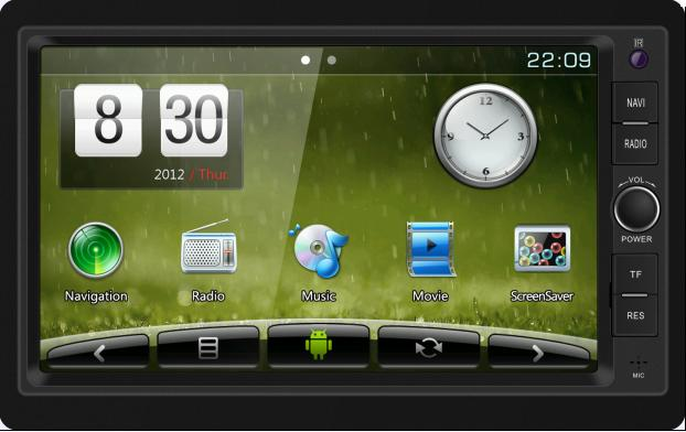Built-in Quad-Core Mali400 Graph HD Car Navigation for Universal (Dt2001s-01-H)