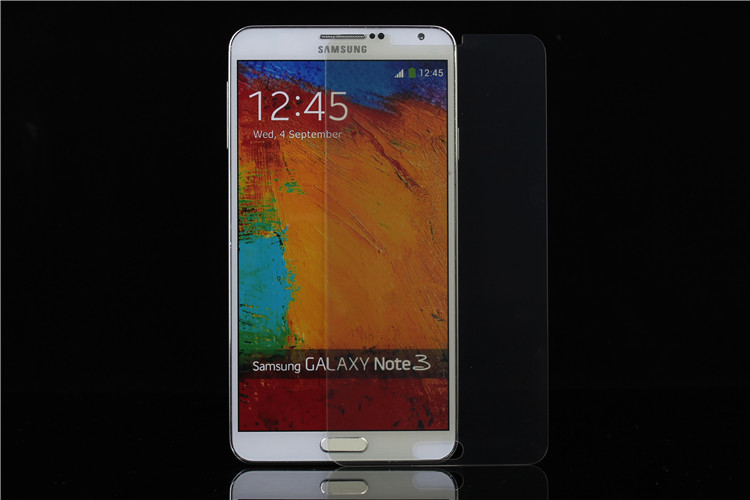 Anti-blue light Tempered glass screen protector, tempered glass film for S4/Note3
