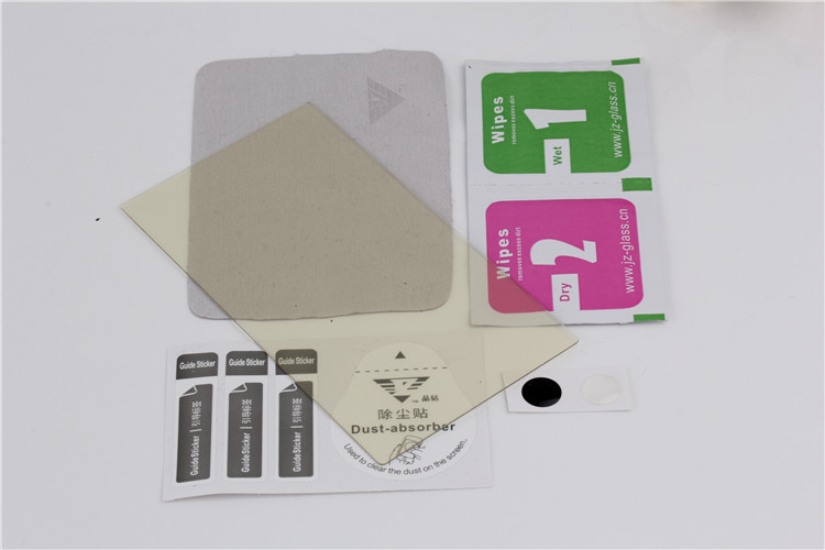 Anti-glare tempered glass screen protector, screen protective film for HTC One