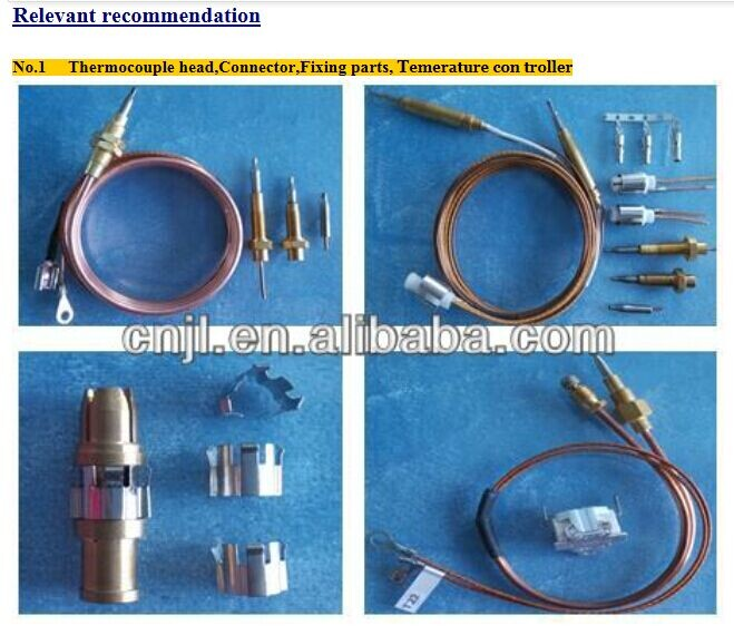 gas cooker thermocouple wire/head