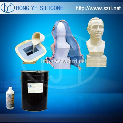 4. Rtv Liquid Moulding Silicone Rubber( for Concrete, PU Resin , Gypsum Casting)