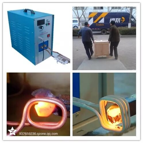 heating induction for welding