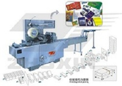 CY2000 Type Adjustable Cellophane Film Tridmensional Packer(Bringing Antiforging Pull Line)