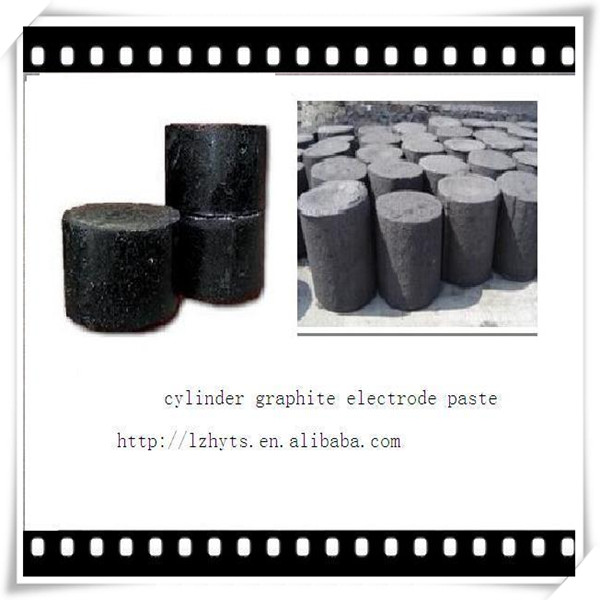 cylinder graphite electrode paste /cylindrical paste for foundry
