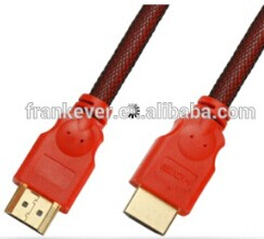 HIGH QUALITY A Male-A Male HDMI CABLE WITH NYLON BRAIDED