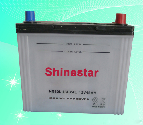 NS6012V45AH Dry Car Battery