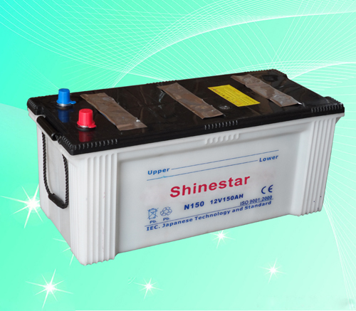 N150 12V150AH Heavy Duty Truck Battery