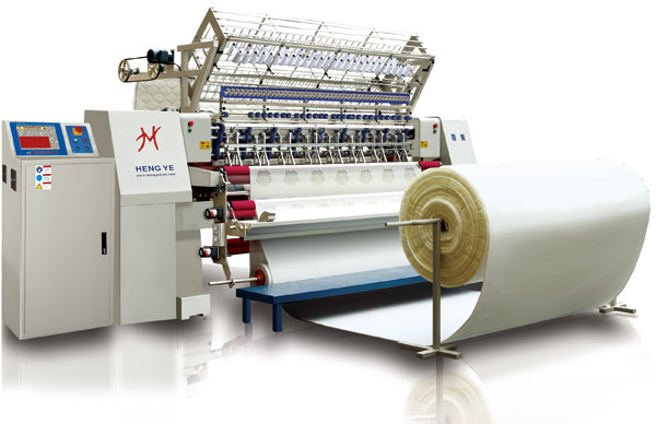 HY-94-3A, HY-128-3A Computerized Lock Stitch Multi-needle Quilting Machine