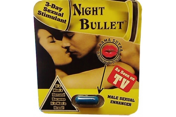 Night Bullet Capsules For Male Sexual Enhancement