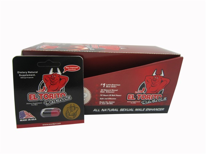 EL TORITO Natural Male Enhancer Dietary Supplement
