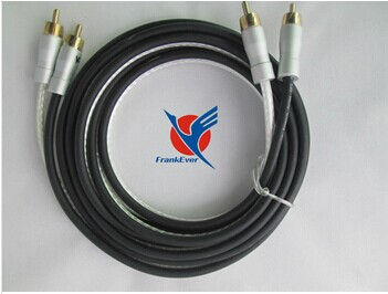 High End PVC 2R To 2R RCA Cable