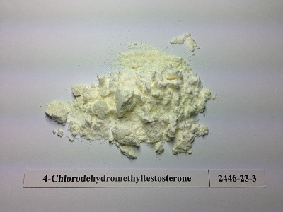 4-chlorodehydromethyl testosterone