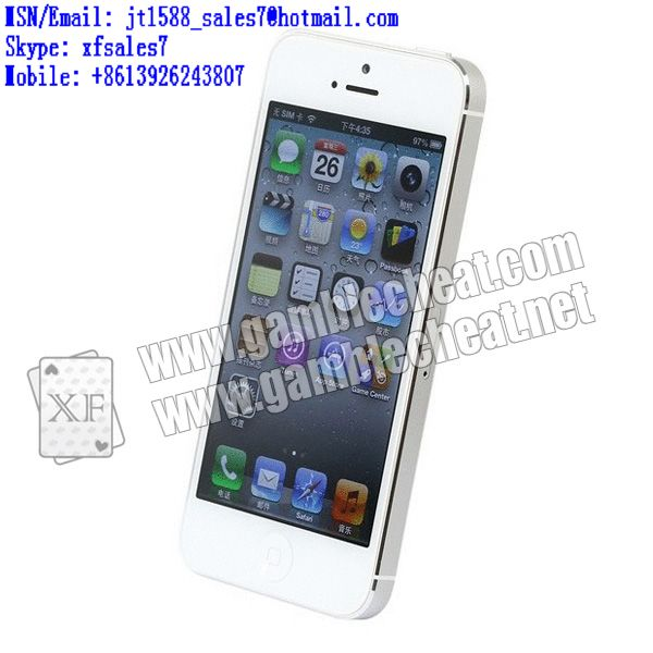 XF original iPhone 5s poker system for non-marked cards