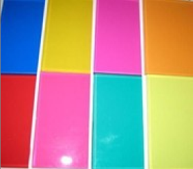 China PVB color glass film