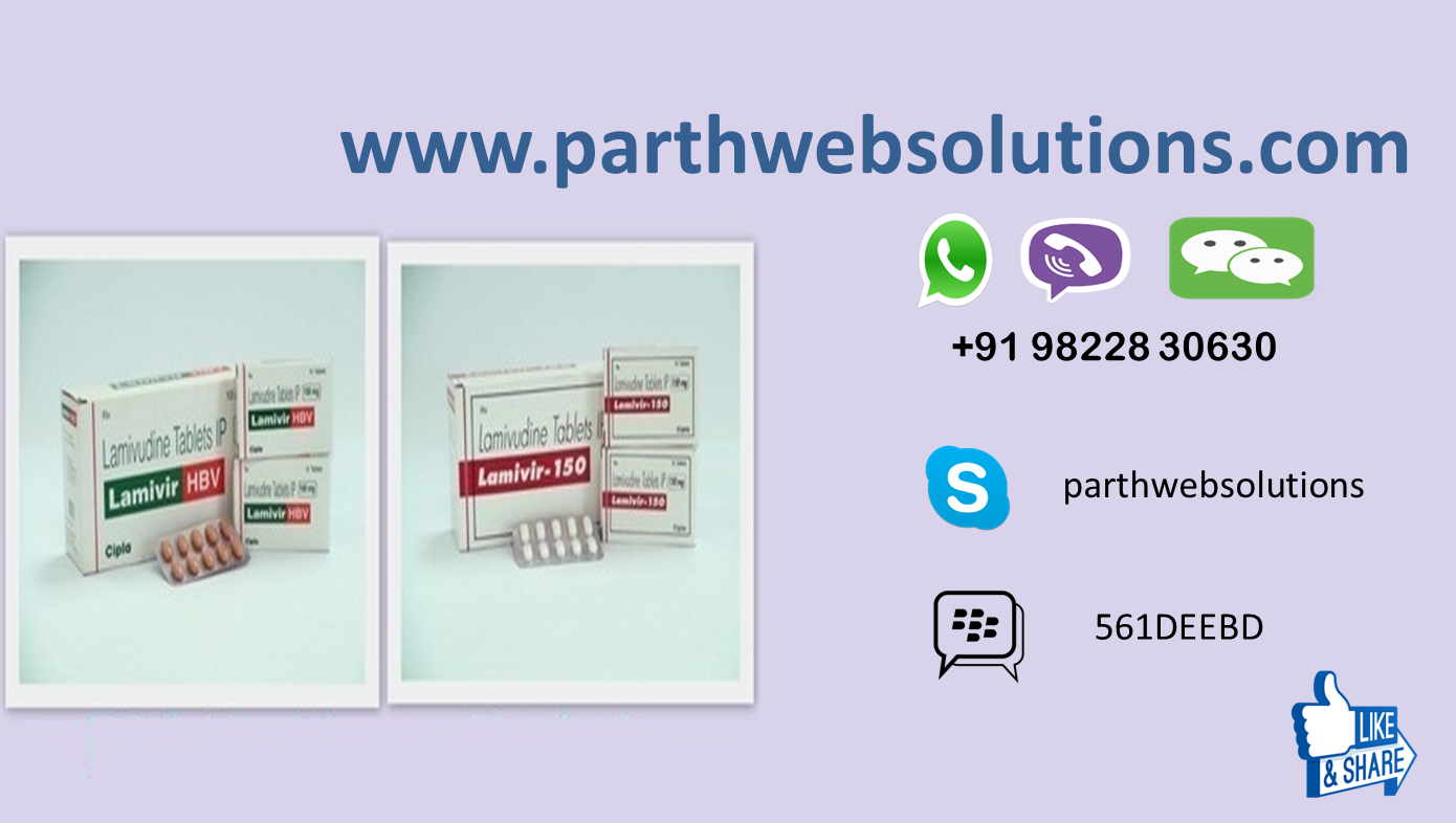 Epivir, Epivir-HBV, Lamivir-HBV, Lamivir (Lamivudine Tablet)