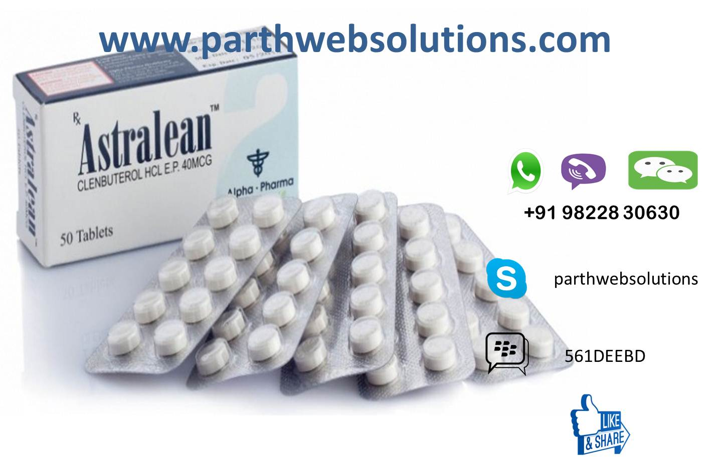 Astralean (Clenbuterol HCL Tablets)