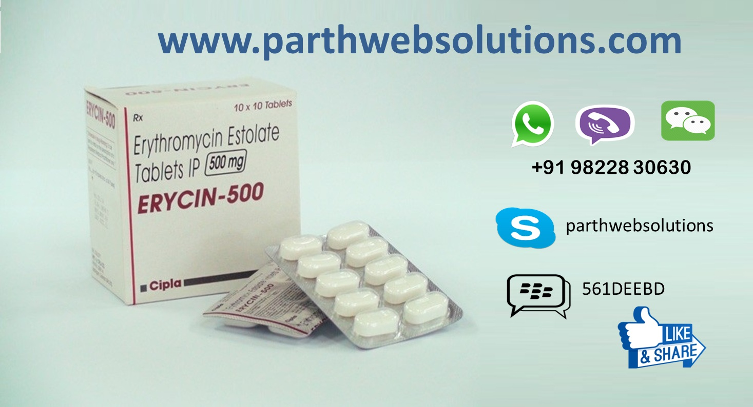 Erycin, Althrocin Tablets (Erythromycin Estolate Tablets)