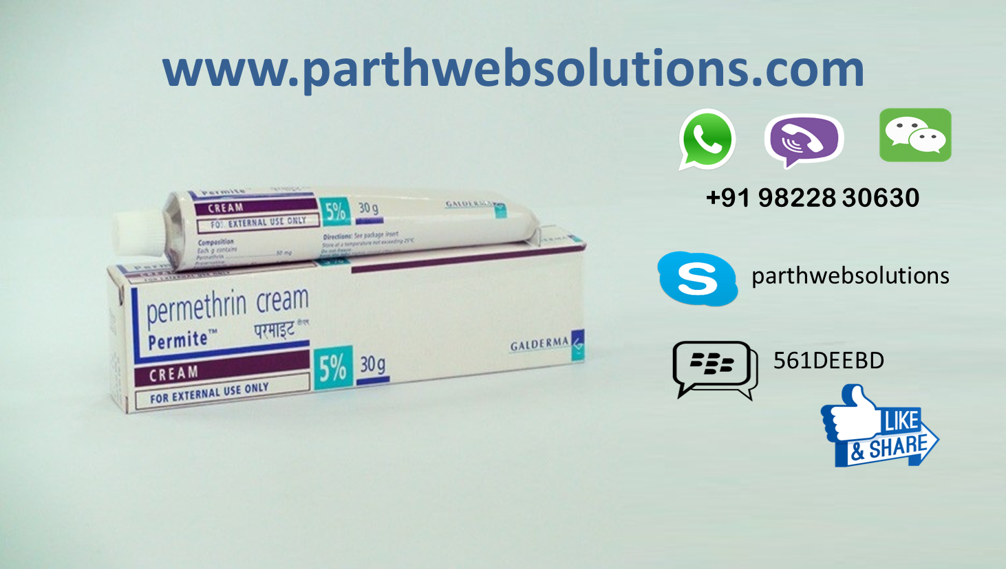 Acticin Cream, Permite (Permethrin Cream)