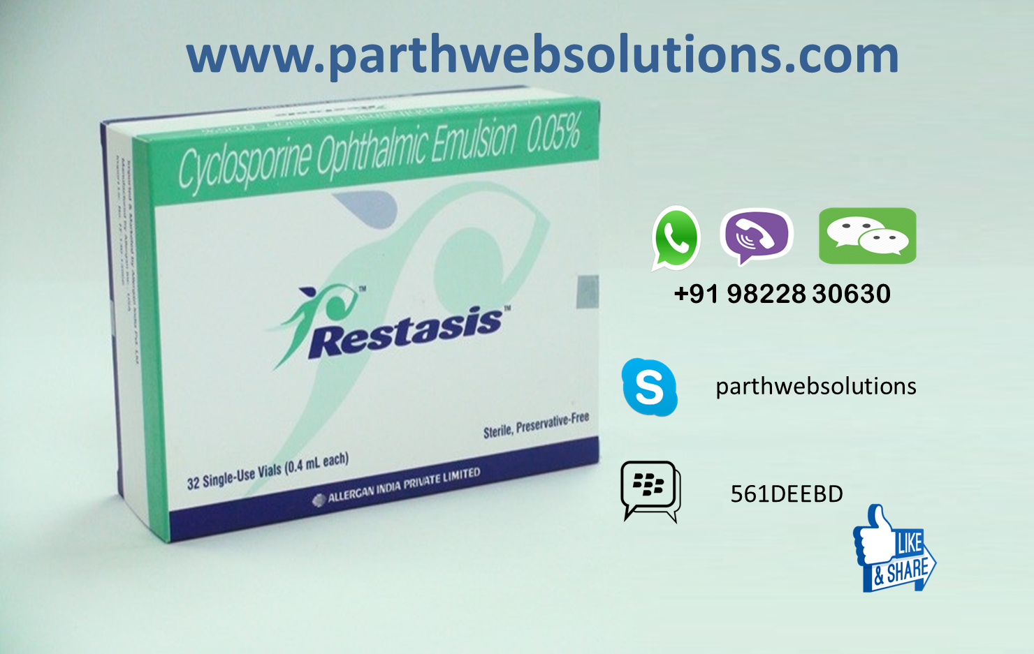 Restasis (Cyclosporine Opthalmic Emulsion Eye Drops)