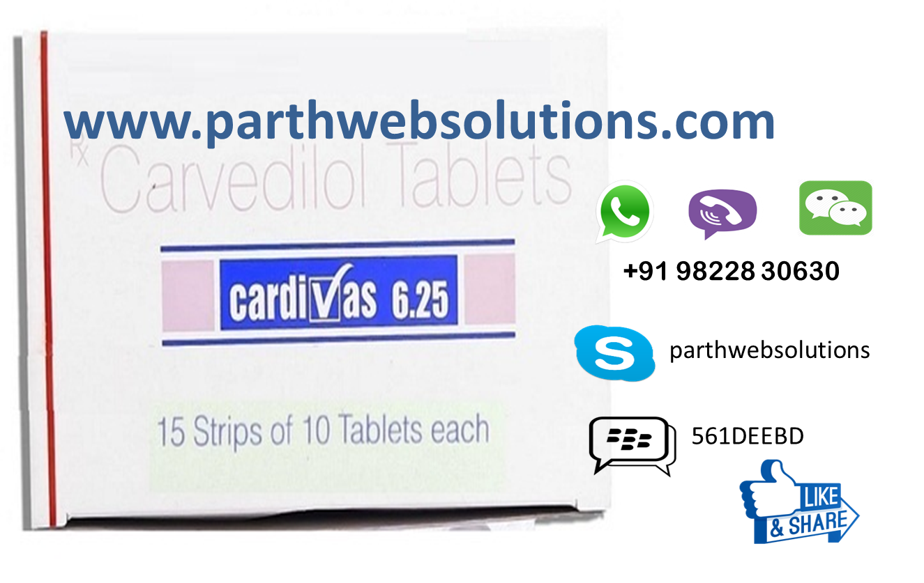 Cardivas, Coreg Tablets (Carvedilol Tablets)